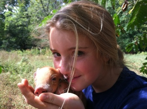 enid and pig